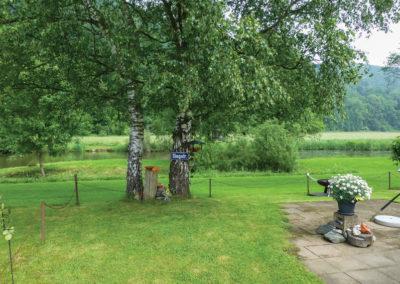 Siegstraße Ufer an der Sieg | Wiese | Kurzcamper