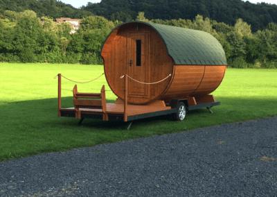 Unser Campinfass | Campingplatz Happach