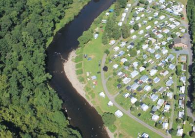 Campingplatz-von-oben