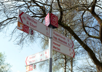 Viele Richtungen | Wandern und Radeln