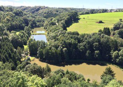 Burg Blankenberg   Wandern und Radeln