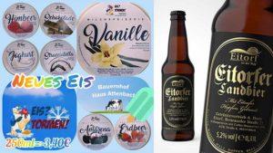 Eis und Eitorfer Landbier